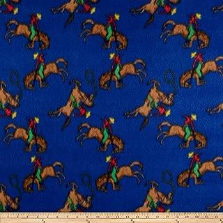 Newcastle Fabrics Polar Fleece Ride em Cowboy Blue Fabric By The Yard