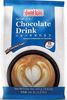 Gold Kili 3 In 1 Chocolate Drink, 15ct