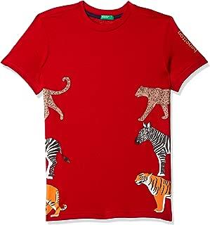 United Colors of Benetton Boy's Plain Regular fit T-Shirt