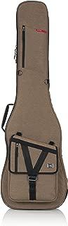 Gator Cases Transit Series Bass Guitar Gig Bag; Tan Exterior (GT-BASS-TAN)