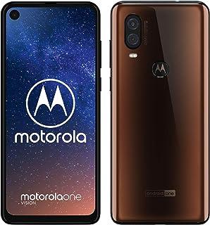 Motorola One Vision - Smartphone Android One (4 GB de RAM, 128 GB, Cámara 48 MP Quad Pixel, Pantalla 6.3'' FHD+ CinemaVisi...