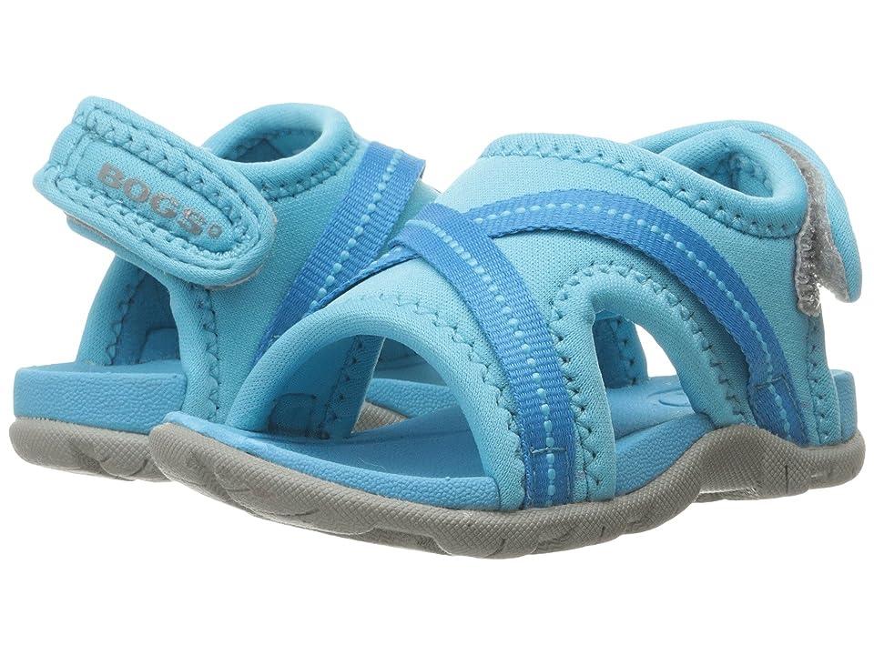 Bogs Kids Keegan (Toddler) (Light Blue Multi) Kids Shoes