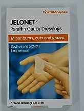 SMITH & NEPHEW S&N JELONET Paraffin Gauze DRESSINGS 5CM X 5CM 5S