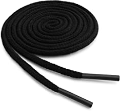 OrthoStep Round Dress Thin Shoelaces 2 Pair Pack - Made in the USA