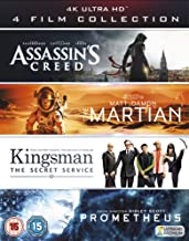 4K UHD Film Collection Assassin's Creed, The Martian, Kingsman & Prometheus  4K 2017