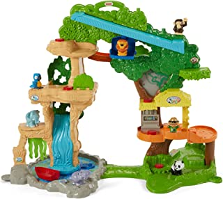 Fisher-Price Little People Share & Care Safari, Estándar, Multicolor