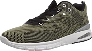 British Knights Men's Demon Olive and Black Sneakers