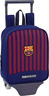 Fc barcelona mochila guardería ruedas, carro, trolley.