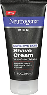 Neutrogena Men's Shaving Cream For Sensitive Skin, Pro-Soothe Technology to Protect..