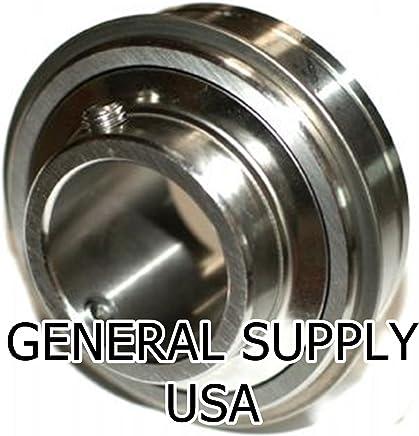 "2 pcs SUC205-16 1/"" Bore Stainless Steel Set Screw Locking Insert Bearing"