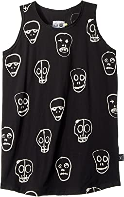 Nununu - Skull Mask Tank Top (Little Kids/Big Kids)
