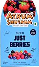 Atrum Shutrum Just Berries Imported Berries Mixture-Strawberry, Blueberry, Cranberry, Gojiberry|100% Natural Fruits Dehydr...