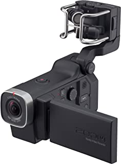 Zoom Q8 Handy Video Recorder, 3M High Definition Video, Stereo Microphones Plus Two XLR/TRS Combo Inputs, Four Tracks of Audio Recording, for Recording, Music, Video, Youtube Videos, Livestreaming,Black