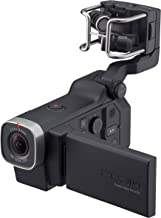 Zoom Q8 Handy Video Recorder, 3M High Definition Video, Stereo Microphones Plus Two XLR/TRS Combo Inputs, Four Tracks of A...