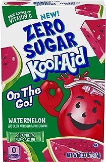 Kool-Aid Jammers Powdered Drink Mix, Zero Sugar Watermelon, 6 ct - Packets
