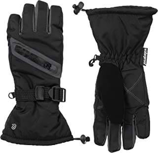 Kids' Waterproof Adjustable Snow and Ski Glove with...