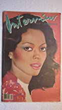 Diana Ross 1981 Front Cover Interview Magazine 1981 Vol Xi No.10