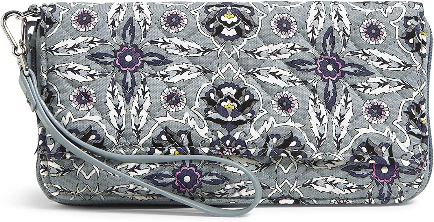 Vera Bradley Cotton Accordion with RFID Max 41% OFF sold out Wristlet Protection