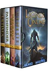 Legends Online Universe: The Complete First Arc of the LitRPG Series: Books 1-4 (Legends Online Universe Box Set Book 1) Kindle Edition