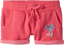 Roxy Kids - Laugh and Love Solid Shorts (Toddler/Little Kids/Big Kids)