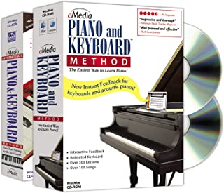 eMedia Piano and Keyboard Method Deluxe v3 (2 volume set) -