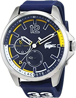 Lacoste Men's Blue Dial Silicone Band Watch - 2010897