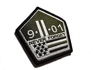 Multicam Us Made 9 11 Never Forget Patch Morale Military 911 Twin Towers