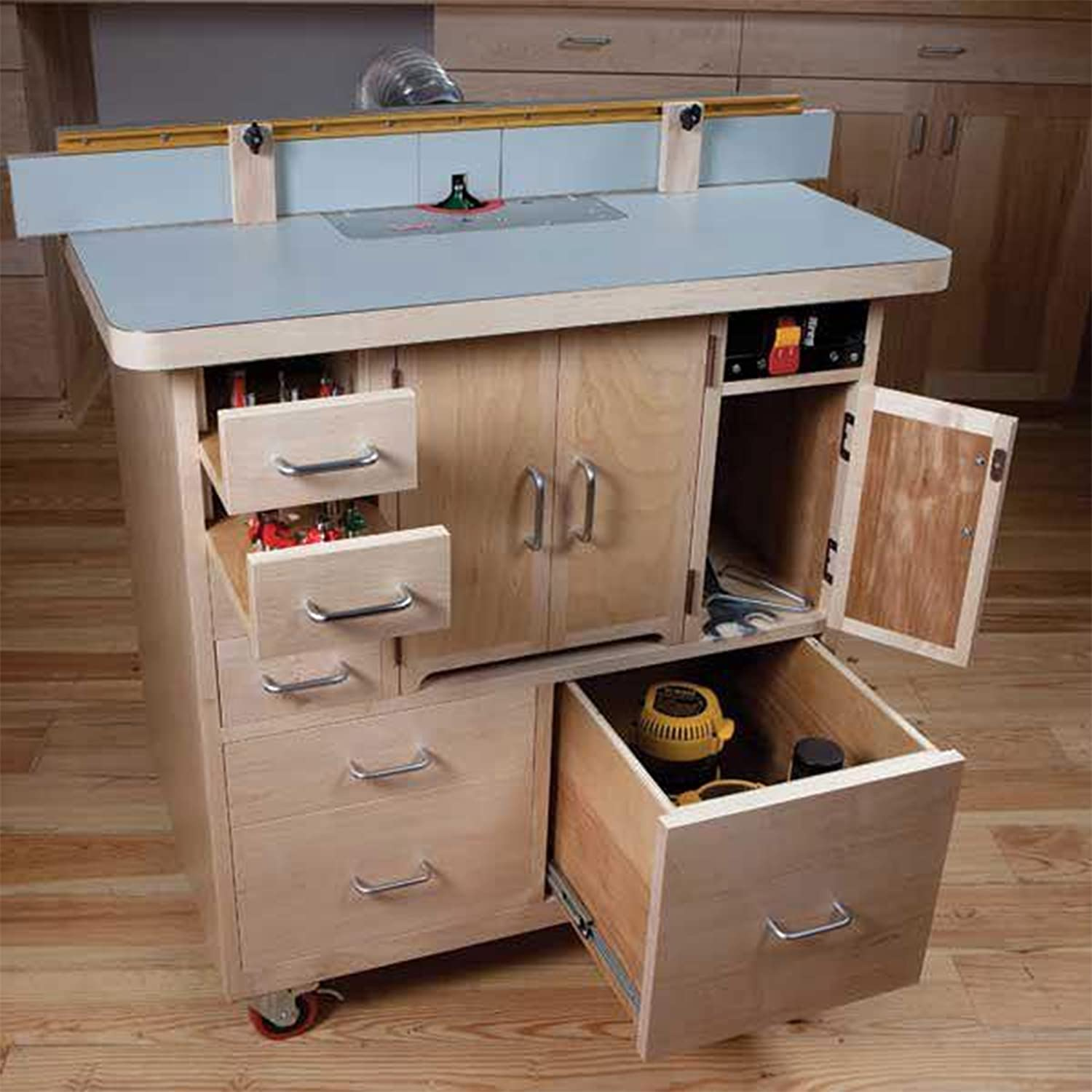 Woodworking Project Direct stock discount Paper Plan Elegant Build to Router Table