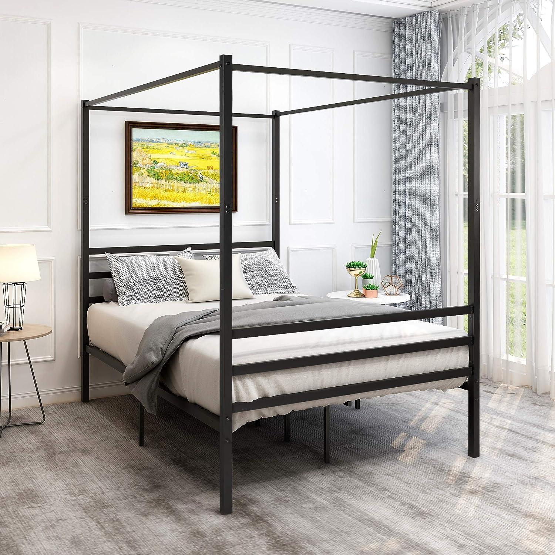 Canopy Washington Mall Bed Frame Platform New Orleans Mall Morden Design St Heavy Duty