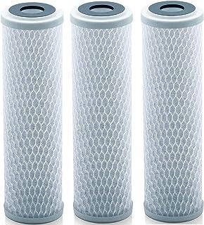 Lake Industries Universal 10 inch Carbon Block Water Filter Cartridge – Replacement CTO Water Purifier Filter