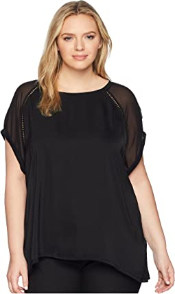 Plus Size Isla Mixed Tee