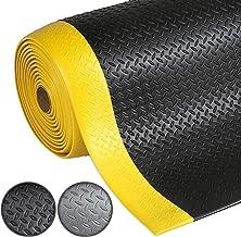 180x500cm protection remorques Tapis de sol caoutchouc etm/® stri/é largeur 180cm pour centres commerciaux etc lieux de d/échargement camion | tailles diverses rev/êtement sol industriel