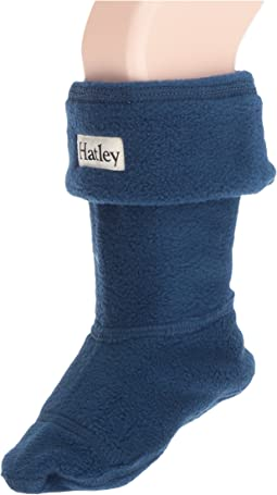 Hatley Kids - Navy Boot Liner (Toddler/Little Kid)