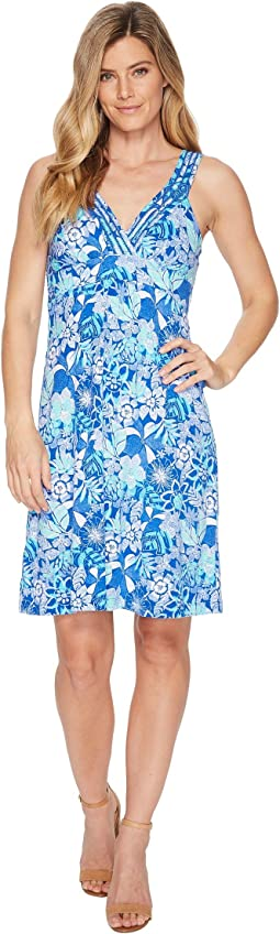 Boardwalk Blooms Sleeveless Dress
