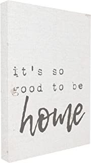 Stupell Industries Its So Good to Be Home Typewriter Typography Canvas Wall Art, 16 x 20, Multi-Color