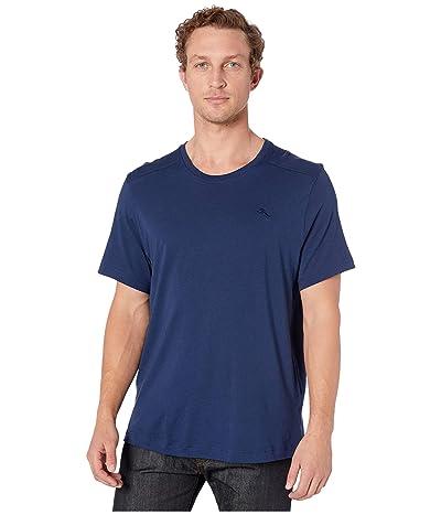 Tommy Bahama Crew Neck T-Shirt (Medieval Blue) Men