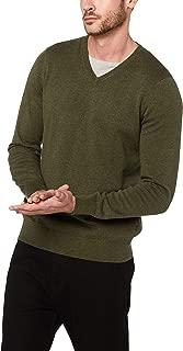 French Connection Men's Cotton Portrait V-Neck Knit
