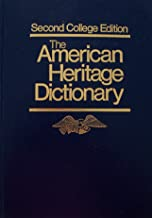 the american heritage dictionary second college edition