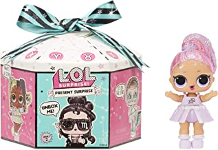 Sponsored Ad - L.O.L. Surprise! Present Surprise Series 2 Glitter Shimmer Star Sign Themed Doll with 8 Surprises, Accessor...