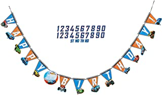 American Greetings, Hot Wheels, Party Supplies, Add-an-Age Birthday Party Banner
