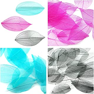 KADS 5pcs/bag Colorful Dried Leaves 6 Color Choice Light Pretty Decorations for Nail Art Manicure Tools (Mix 2)