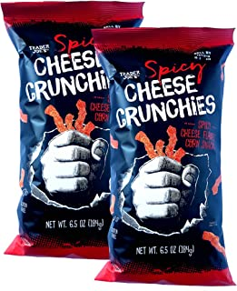 trader joe's spicy cheese crunchies