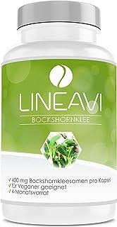 comprar comparacion LINEAVI Alholva, 400 mg de semillas puras de alholva (fenogreco), contribuye a la formación de leche durante el período de...