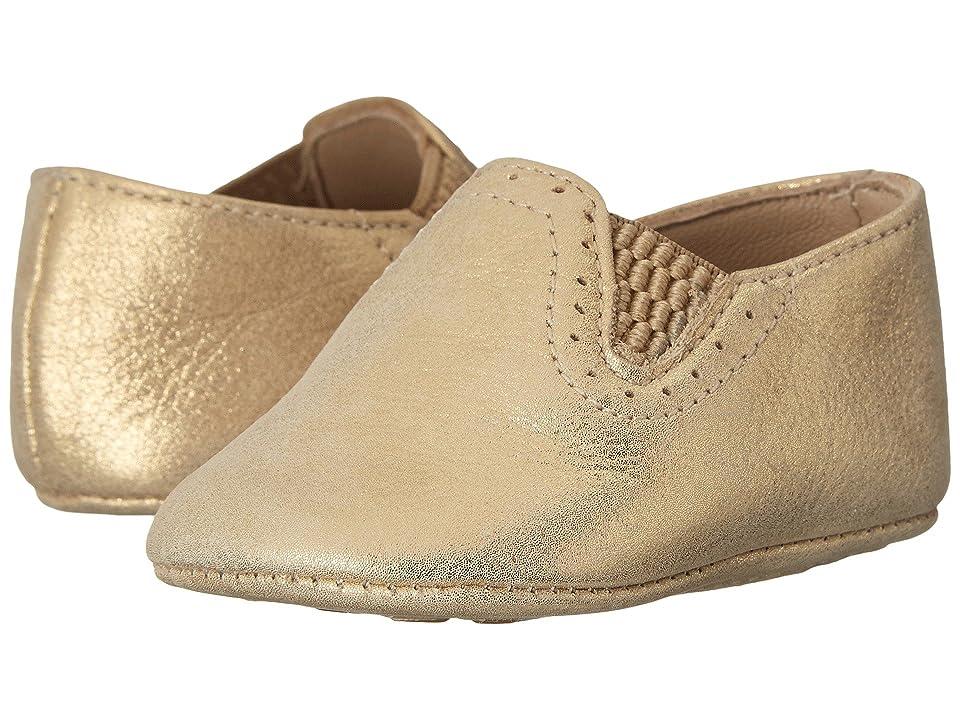 Elephantito Baby Sleepers (Infant/Toddler) (Metallic Gold) Girls Shoes