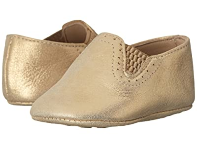 Elephantito Baby Sleepers (Infant/Toddler) (Metallic Gold) Girls Shoes