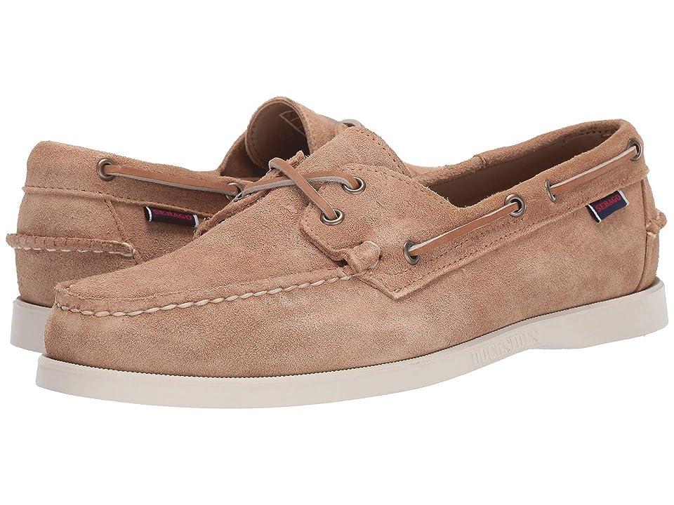 39d6bfff49f Sebago Dockside Portland Suede (Beige Camel) Men s Shoes