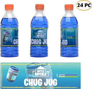 24 Pack Bottle Labels - 12Oz Water Bottles - Game Birthday Party Favor for Kids Gamers and Adult -Birthday Party Decorations - Game Party Supplies -Heat Shrinking Non-Adhesive