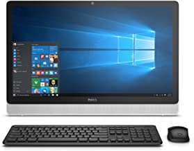 Dell Inspiron i3455-10041WHT 23.8 Inch Touchscreen All in One (AMD A8, 8 GB RAM, 1 TB HDD, White Bezel with SIlver Easel)