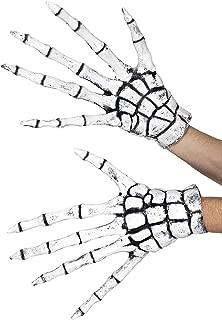Smiffys Grim Reaper/Skeleton Gloves Size: One Size