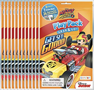 Mickey Mouse and the Roadster Racers Grab & Go Play Packs (Pack of 12)